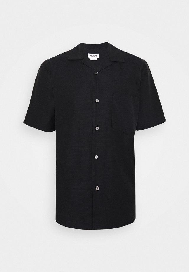 CHILL SHORTSLEEVE  - Skjorte - black