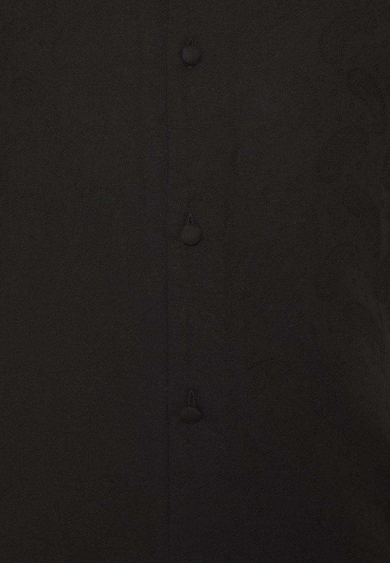 Weekday COFFEE PAISLEY SHIRT - Skjorte - black