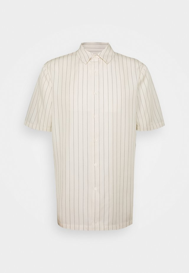 KIAN STRIPED - Skjorte - white