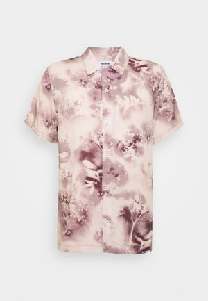 COFFEE SPRAY FLOWER - Shirt - beige