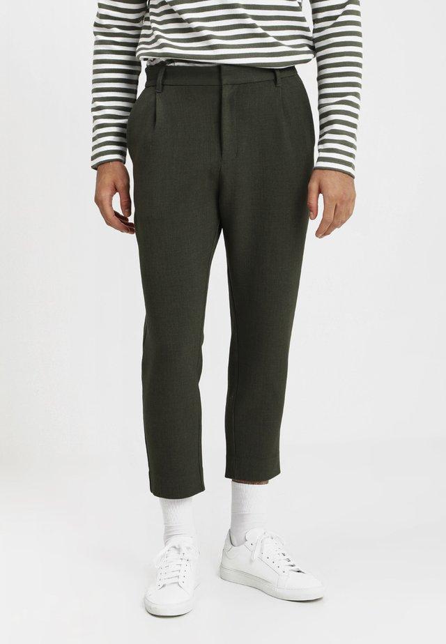 MARD TROUSERS - Bukse - khaki melange