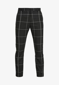 Weekday - CHECKED TROUSERS - Kalhoty - black/white - 4