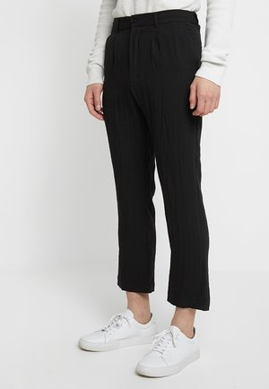 LARGO PANTS - Pantaloni - black