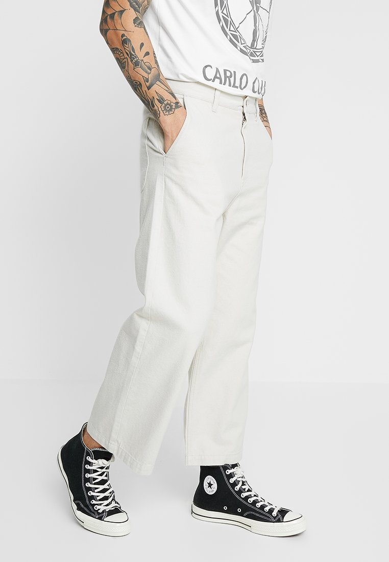 Weekday - IVAN TROUSERS - Jeans Relaxed Fit - beige light
