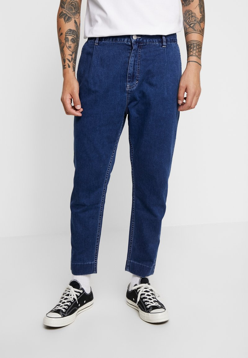 Weekday - MARD TROUSERS - Stoffhose - dream blue