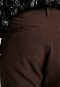 Weekday - MARD TROUSERS - Pantaloni - mottled brown - 3