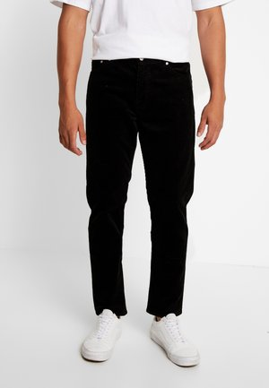 SUNDAY TROUSER - Tygbyxor - black