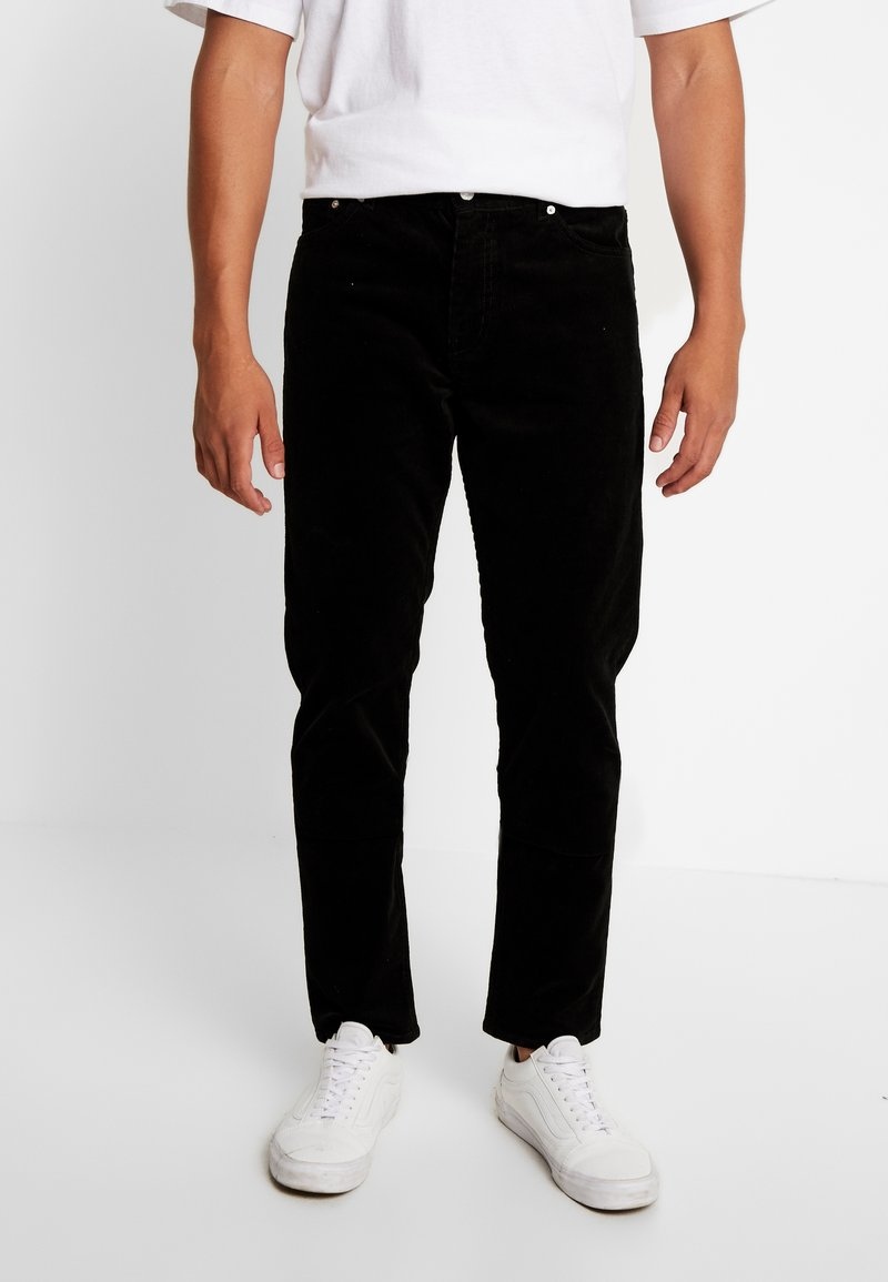 Weekday - SUNDAY TROUSER - Trousers - black