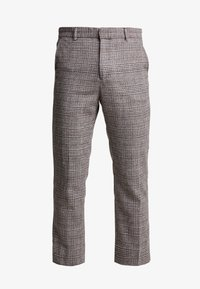 Weekday - CHARLIE CHECK TROUSER - Stoffhose - beige - 3