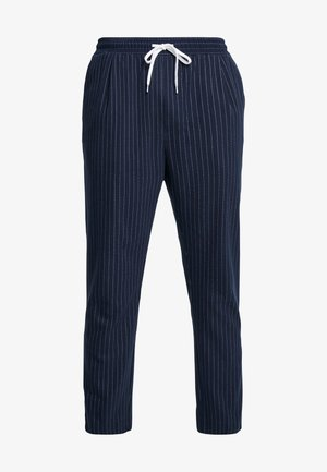THRILLER PINSTRIPE JOGGERS - Trousers - blue