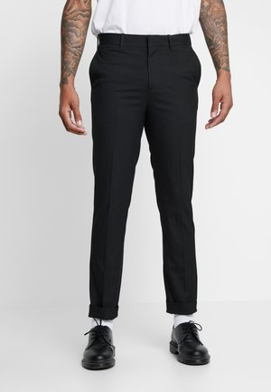BODIE SUIT TROUSERS - Trousers - black