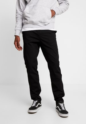 BODIE TWILL TROUSERS - Bukse - black
