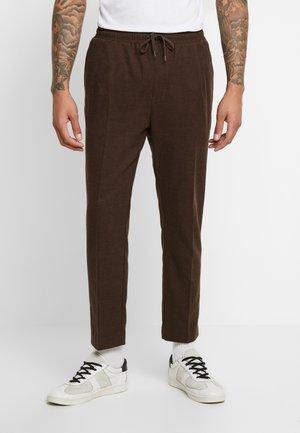 THRILLER  - Pantaloni sportivi - brown melange