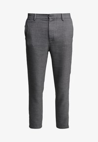 Weekday - ARVID TROUSERS - Trousers - dark grey - 4