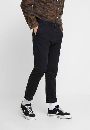 KAJ - Chino kalhoty - black