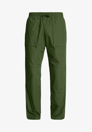 NOAH WORKER TROUSERS - Trousers - khaki green