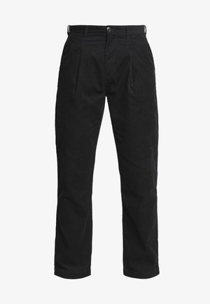 DIMITRI TROUSERS - Trousers - black