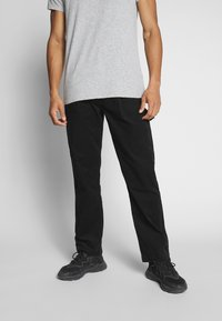 Weekday - DIMITRI TROUSERS - Trousers - black - 0