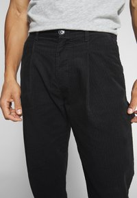 Weekday - DIMITRI TROUSERS - Trousers - black - 6