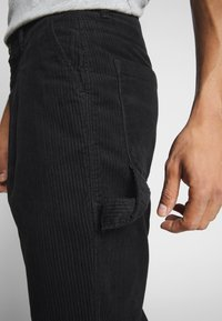 Weekday - DIMITRI TROUSERS - Trousers - black - 3