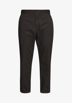 YAKIV TROUSERS - Trousers - black