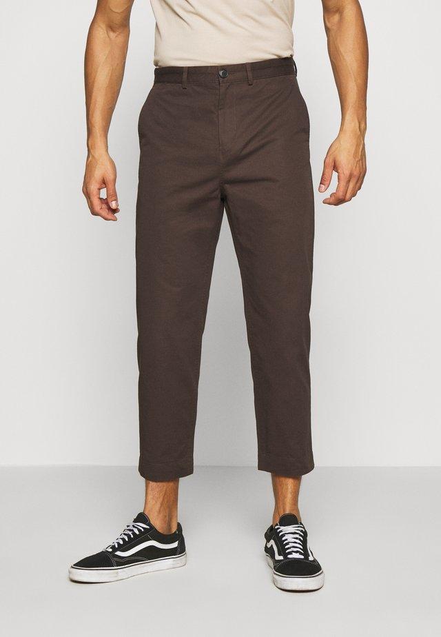 MADISON TROUSER - Bukse - brown