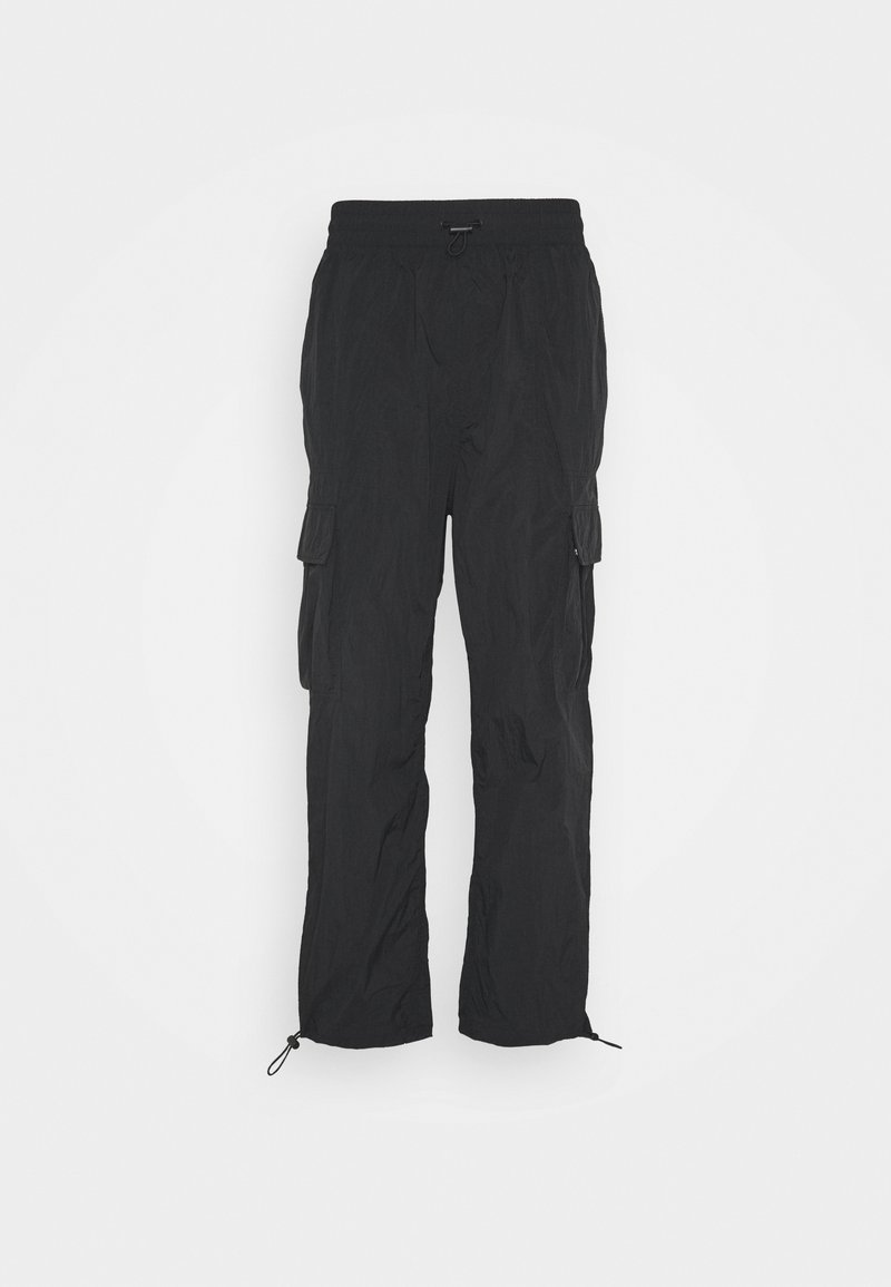 Weekday - JUNO JOGGERS - Trousers - black