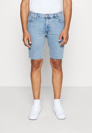 SUNDAY  - Denim shorts - pen blue
