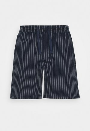OLSEN STRIPED - Shorts - blue
