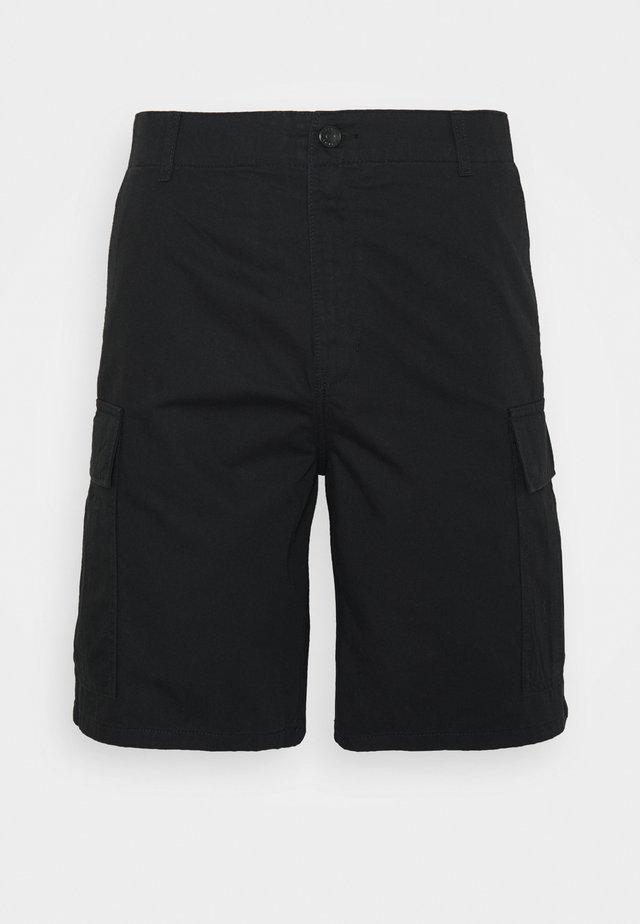 REI CARGO SHORTS - Shorts - black