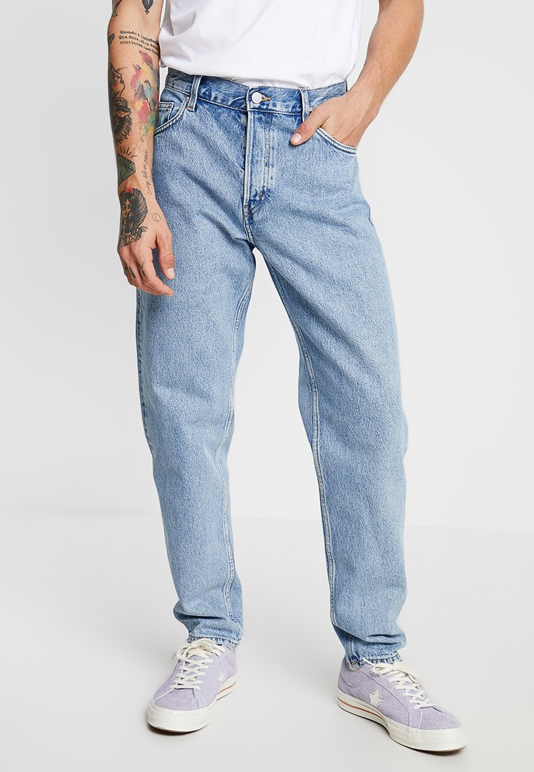 Weekday - BARREL - Relaxed fit jeans - pen blue