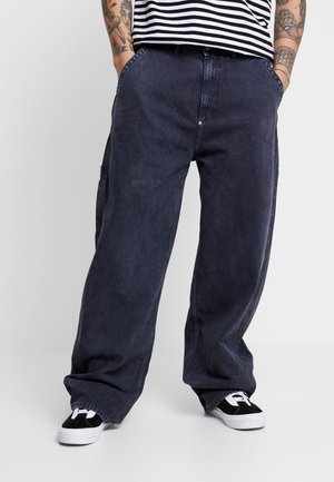 LEE X WEEKDAY BIG SKATER TROUSER - Jeans relaxed fit - washed black