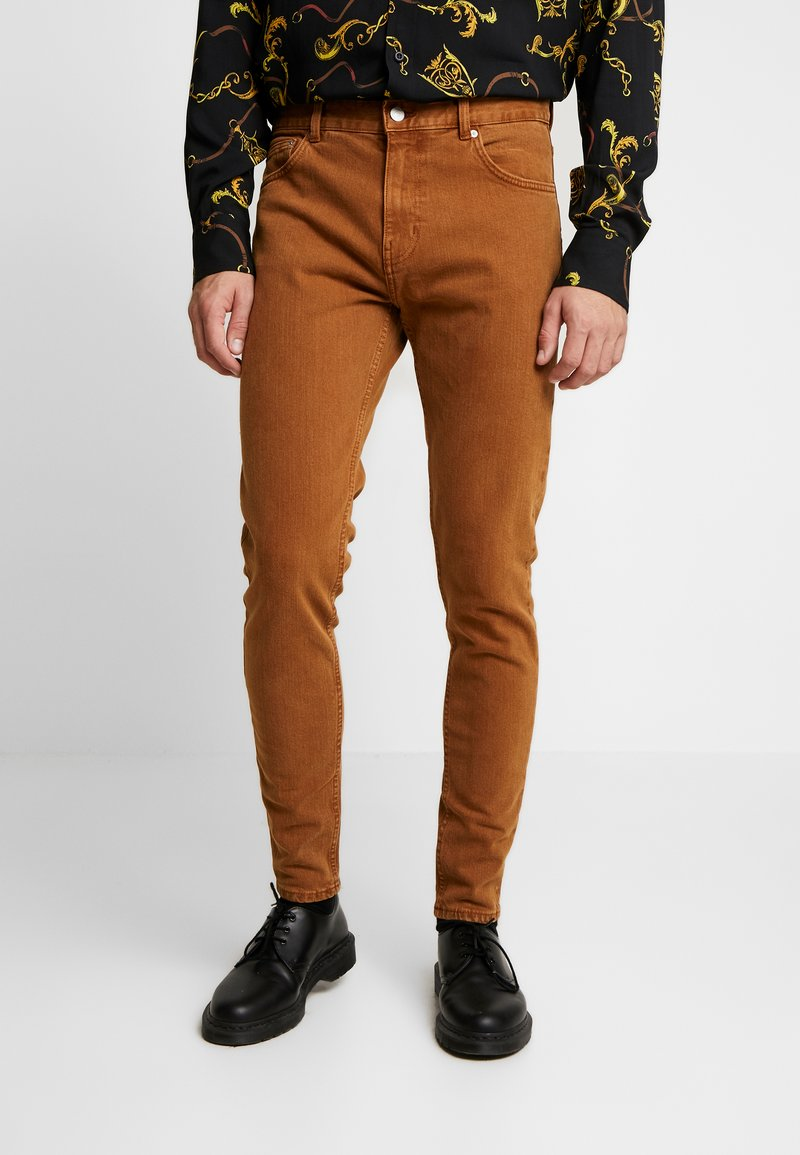 Weekday - CONE CANION - Jeans slim fit - brown