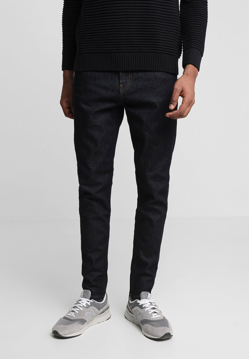 Weekday - CONE DARK RINSE - Jeans Tapered Fit - blue