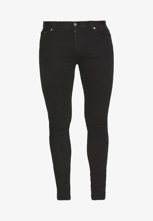 FORM TUNED - Jeansy Relaxed Fit - black