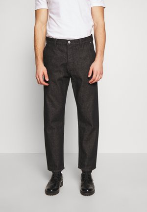 BARREL SALT AND PEPPER - Relaxed fit jeans - black