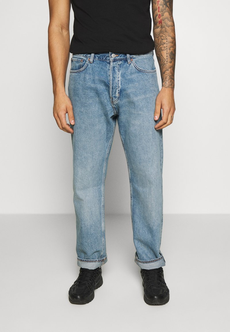 Weekday - SPACE SEVEN - Relaxed fit jeans - seven blue