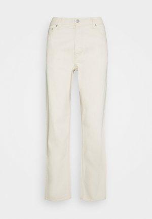 BARREL PEN - Relaxed fit jeans - ecru