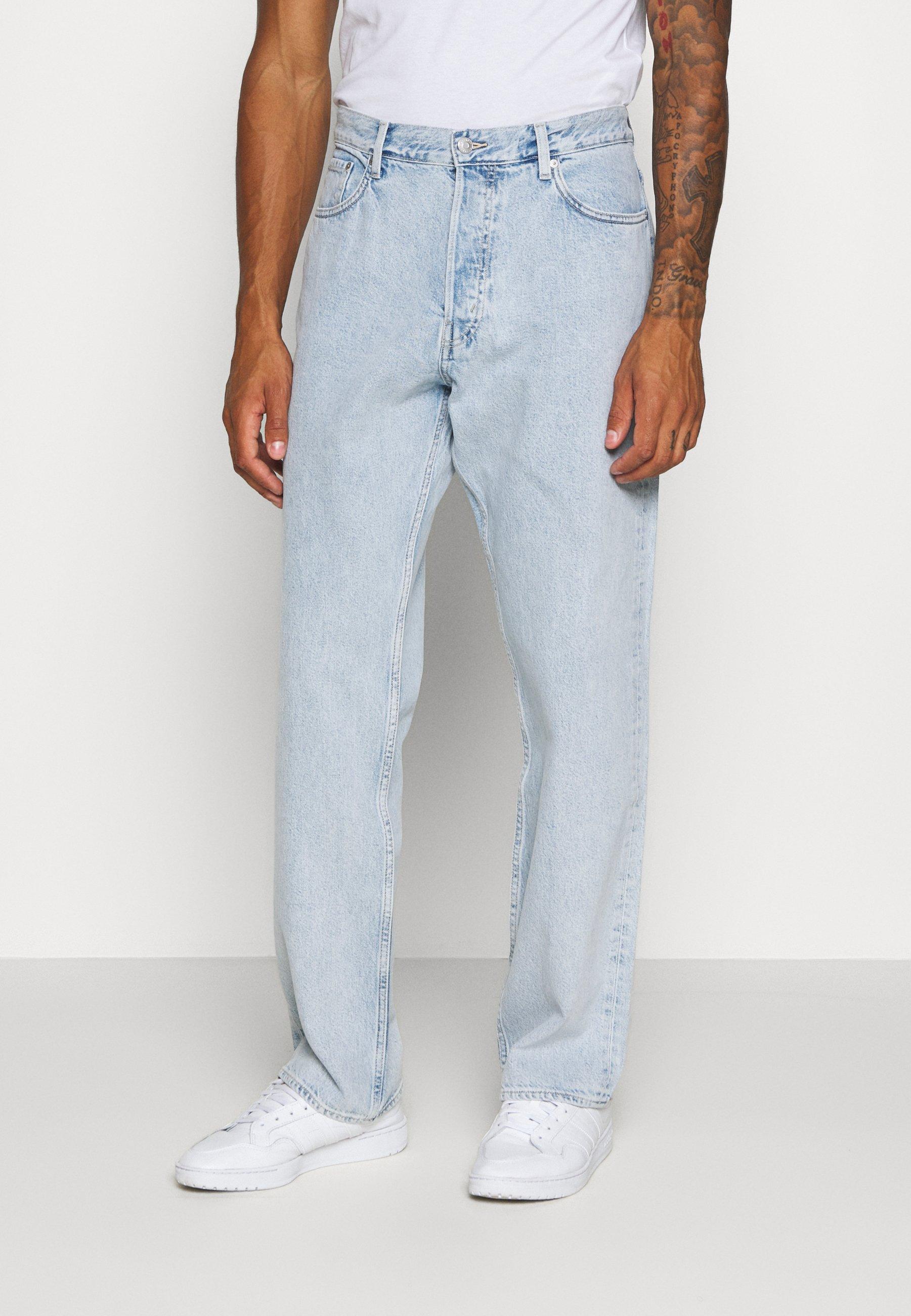 Super Erikoistarjoukset Miesten vaatteet Sarja dfKJIUp97454sfGHYHD Weekday SPACE COLD BLUE Straight leg -farkut blue