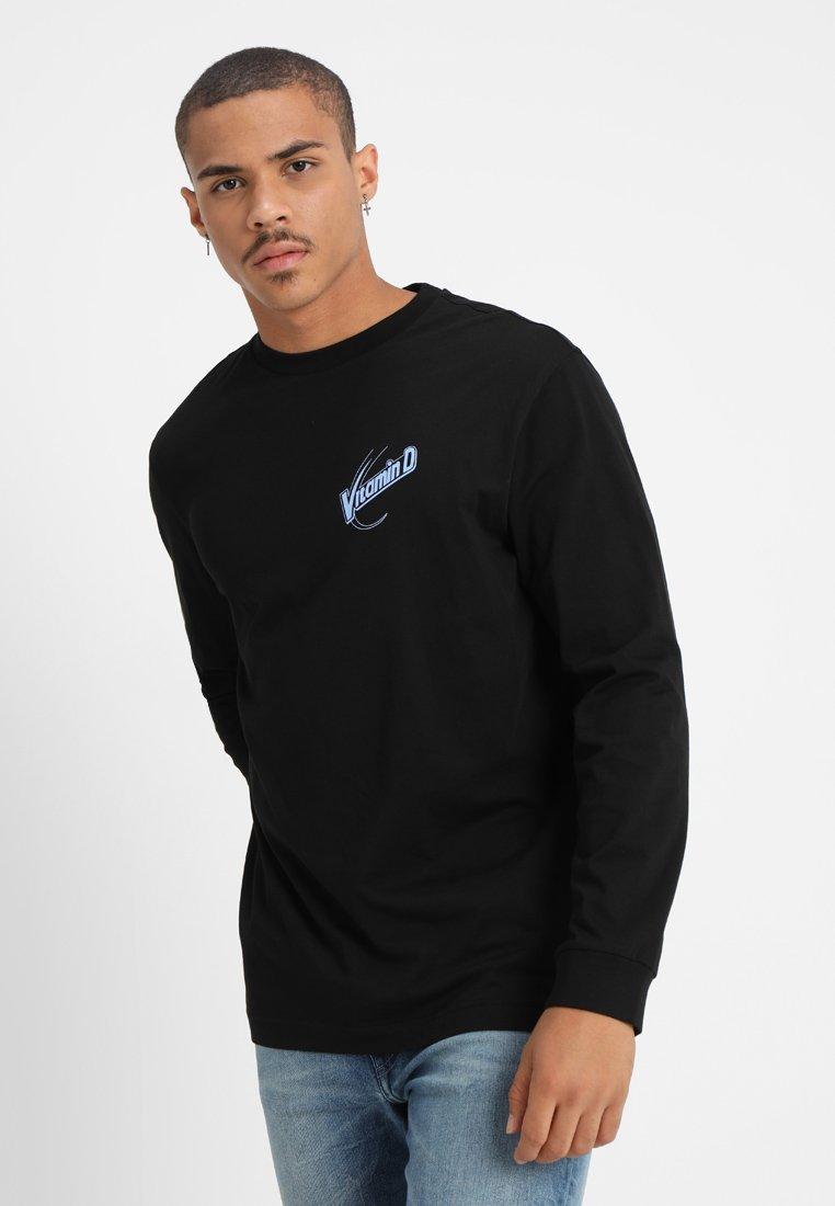 Weekday - CARLOS VITAMINE D - Long sleeved top - black