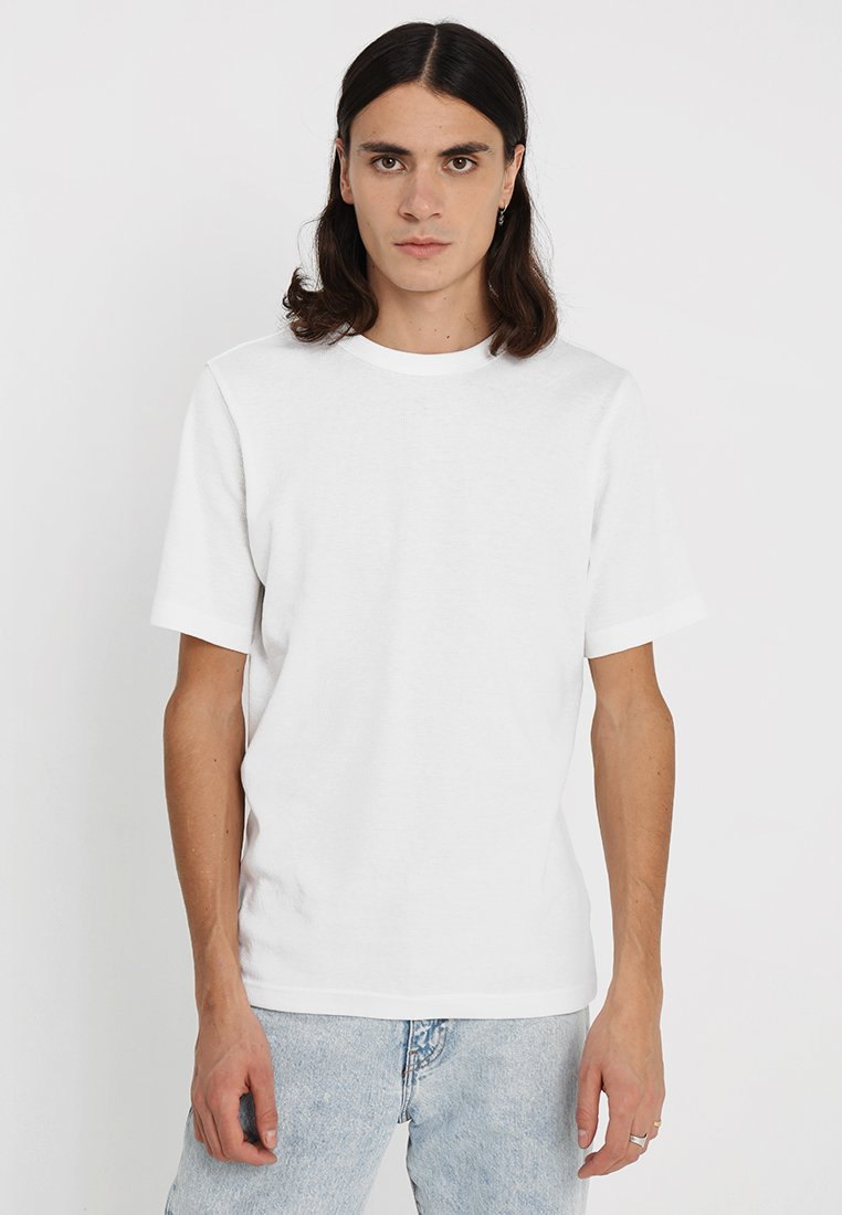 Weekday - GRINKO - T-Shirt basic - white