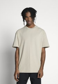 Weekday - GREAT  - T-shirt basique - beige - 0