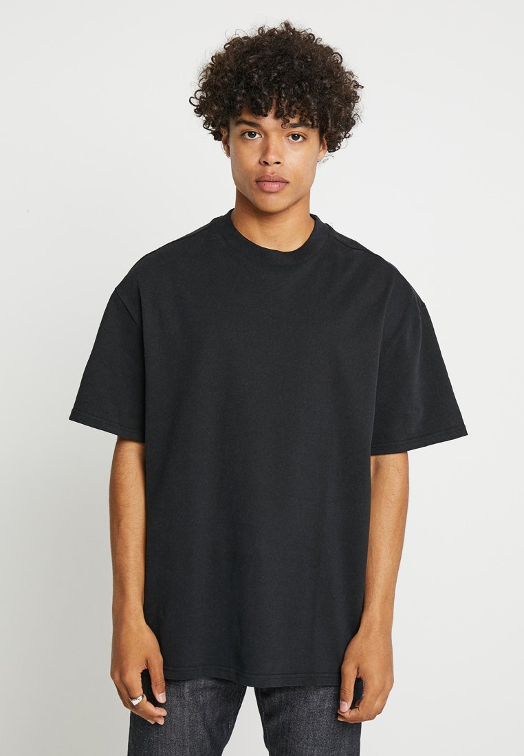 Weekday - GREAT - T-Shirt basic - black