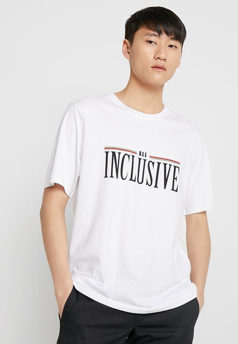 Weekday - FRANK ALL INC - T-Shirt print - white