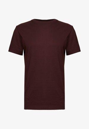 ALAN - T-shirt basic - wine red