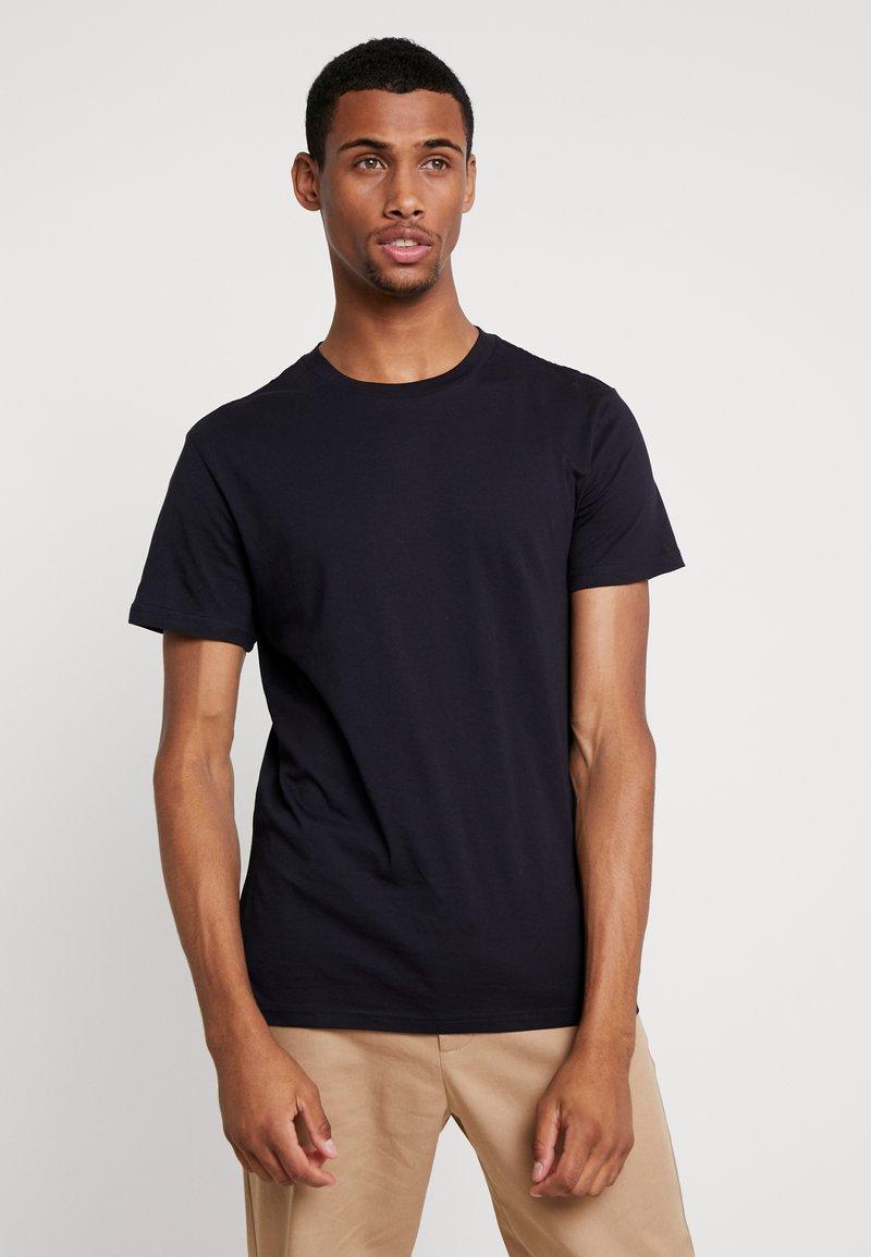 Weekday - ALAN - T-Shirt basic - dark blue