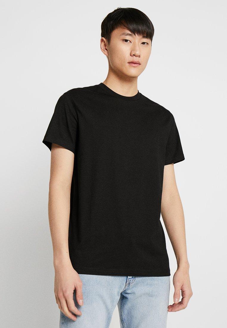 Weekday - ALAN - Basic T-shirt - black