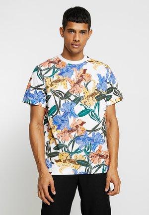 BILLY CATTLEYA - T-shirt print - white