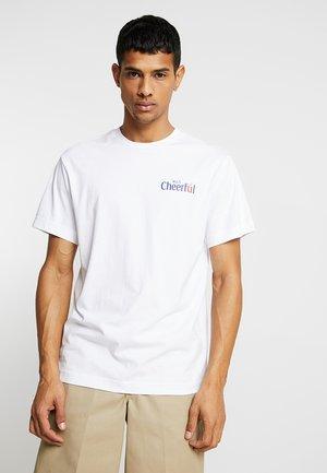 BILLY CHEERFUL - T-shirt imprimé - white