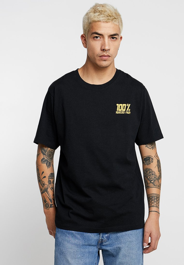 Weekday - FRANK SQUEEZED - T-shirt imprimé - black